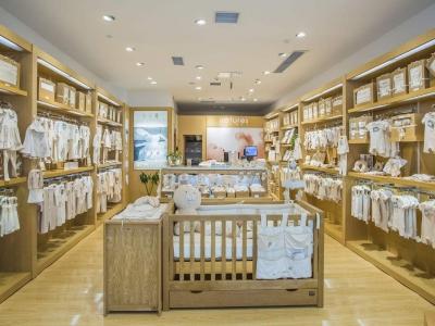 婴儿服装店展示架